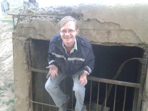 отчет о прогулке в бомбоубежище, защитное сооружение гражданской обороны бункер Астрахань