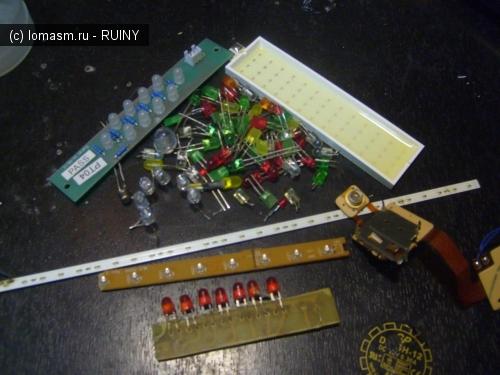 светодиоды различных марок для фонарика